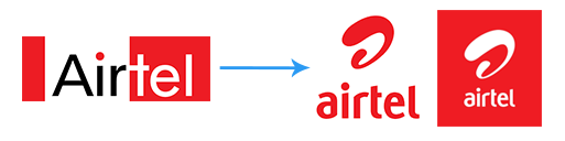 airtel-logo-changes